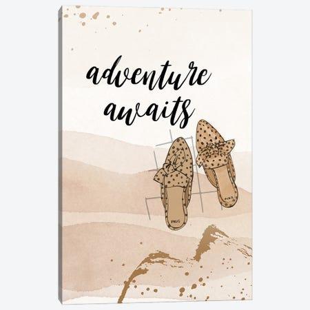 Adventure Awaits Canvas Print #RDE315} by Rongrong DeVoe Canvas Artwork