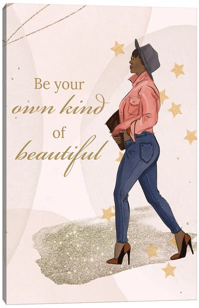 Be Your Own Kind Canvas Art Print