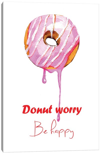 Donuts Single Canvas Art Print