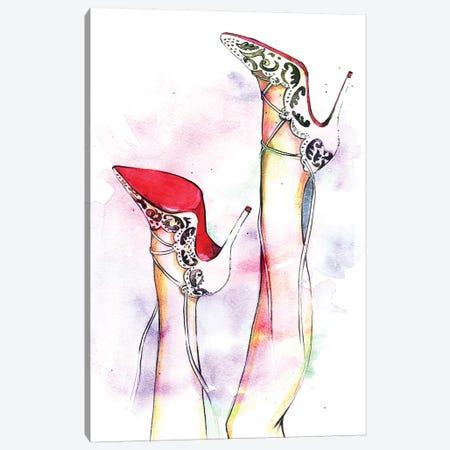 Fun Time Canvas Print #RDE34} by Rongrong DeVoe Canvas Art Print