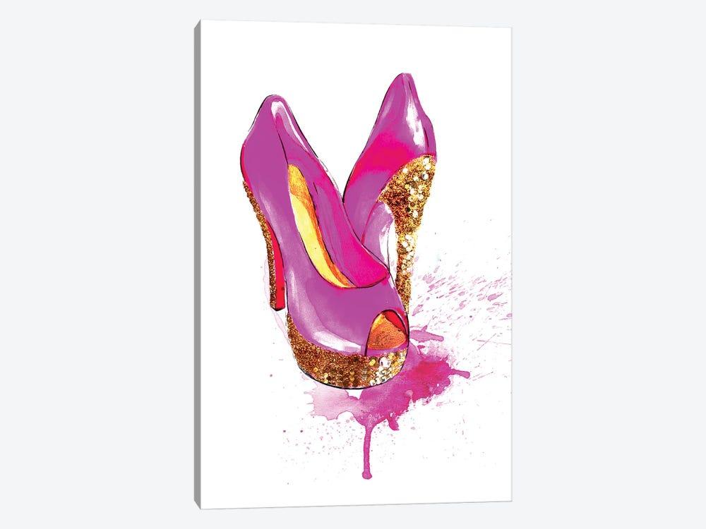 Glitter High Heel by Rongrong DeVoe 1-piece Art Print