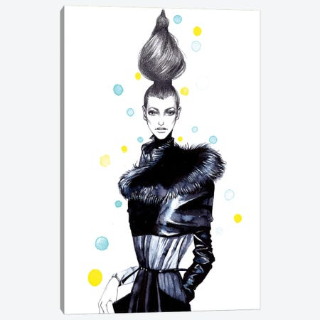 High Fashion Canvas Print #RDE37} by Rongrong DeVoe Canvas Art Print