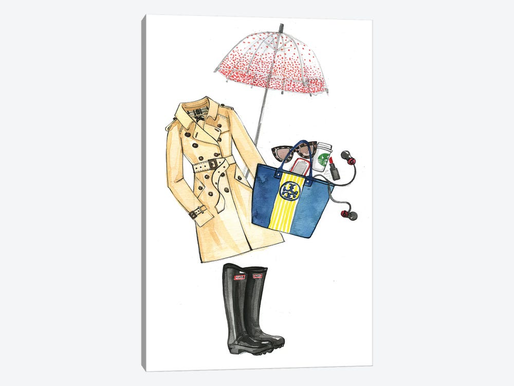 In Case It Will Rain 1-piece Art Print