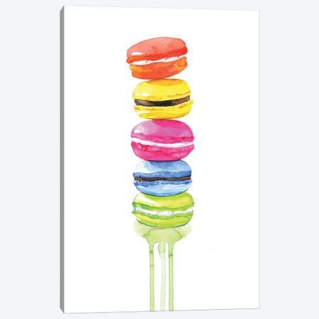 Macarons Canvas Print #RDE48} by Rongrong DeVoe Canvas Art Print