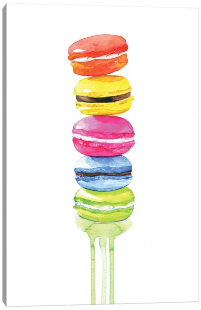 Macarons Canvas Art Print