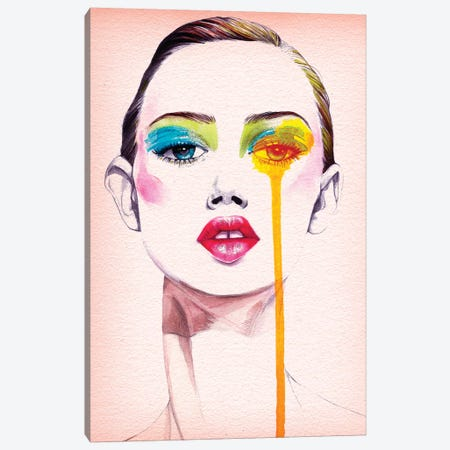Make Up Canvas Print #RDE50} by Rongrong DeVoe Canvas Art
