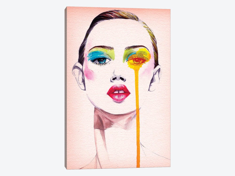 Make Up by Rongrong DeVoe 1-piece Canvas Art
