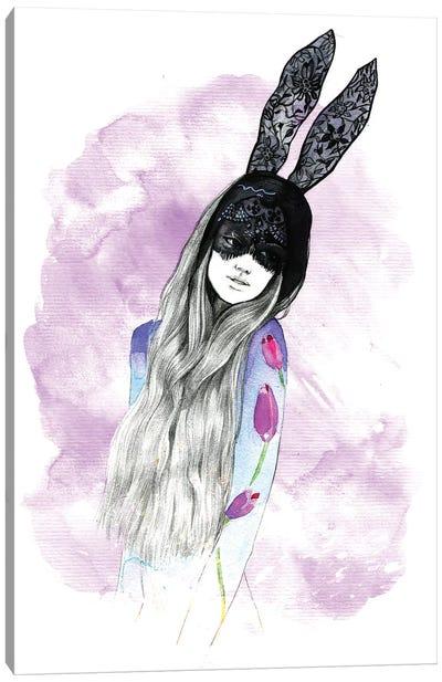 Mask Girl  Canvas Print #RDE52