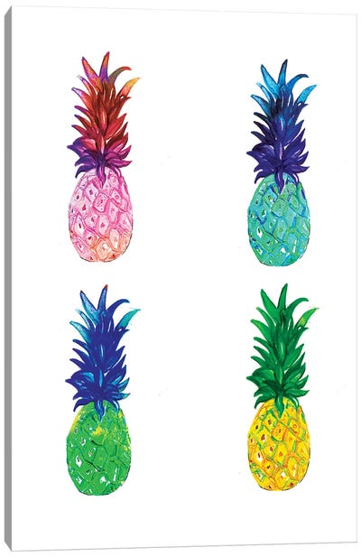 Pineapple Canvas Art Print