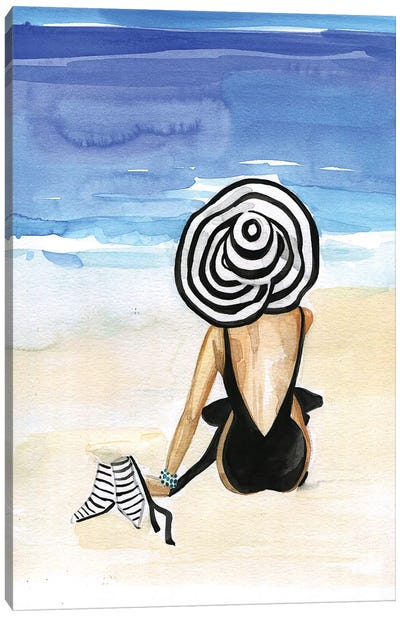 Beach Time Canvas Art Print