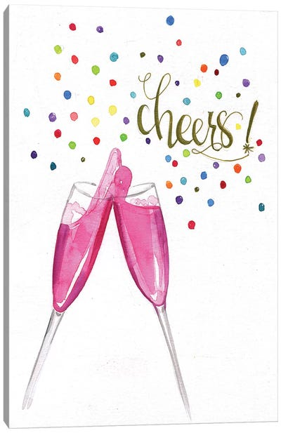 Cheers Canvas Art Print