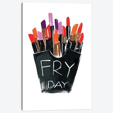 Fry-day Canvas Print #RDE68} by Rongrong DeVoe Art Print