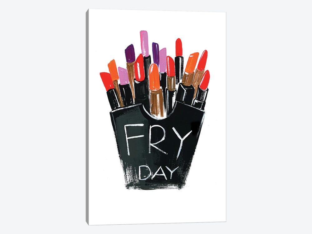 Fry-day by Rongrong DeVoe 1-piece Canvas Print