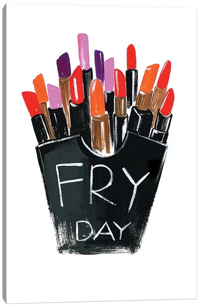 Fry-day Canvas Art Print