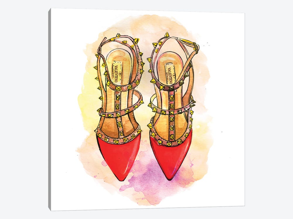 Red Valentino by Rongrong DeVoe 1-piece Art Print