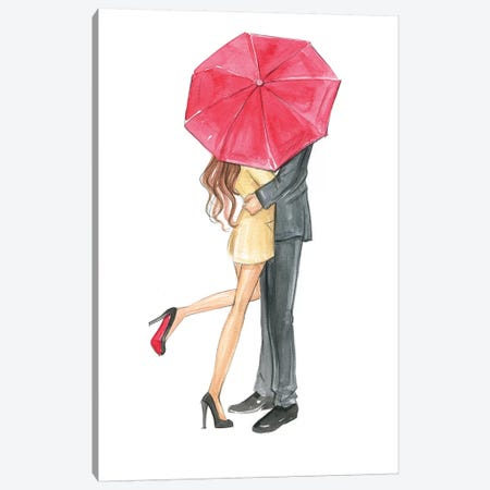 Love Is In The Air Canvas Print #RDE89} by Rongrong DeVoe Canvas Print