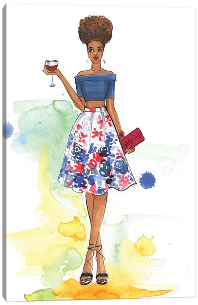 Cheers To The Weekend (Inspired By Style Watch) Canvas Art Print