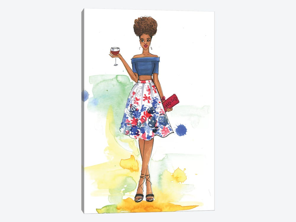 Cheers To The Weekend (Inspired By Style Watch) by Rongrong DeVoe 1-piece Canvas Artwork