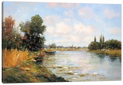 Aan de Waterkant I Canvas Art Print