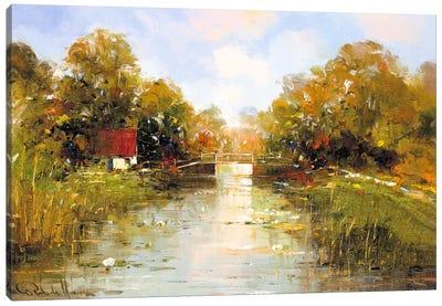 Aan de Waterkant II Canvas Art Print