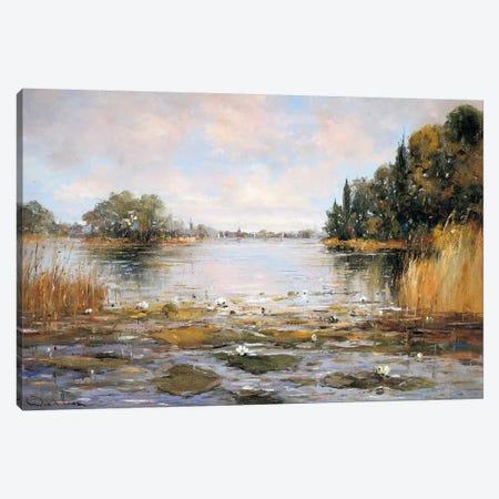 Aan de Waterkant III Canvas Print #RDH3} by Rob de Haan Canvas Art Print