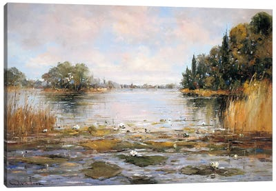 Aan de Waterkant III Canvas Art Print