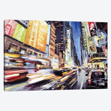42nd Street 2 Canvas Print #RDI10} by Roger Disney Canvas Artwork