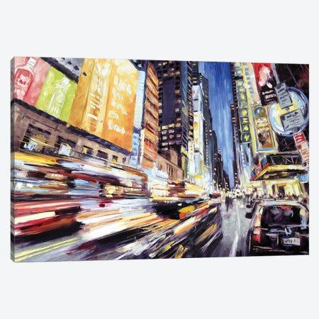 42nd Street 2 Canvas Print #RDI10} by Roger Disney Canvas Artwork