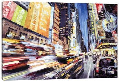 42nd Street 2 Canvas Art Print