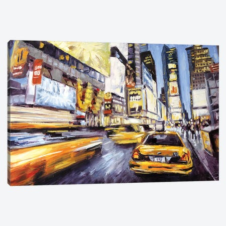 46th & 7th Canvas Print #RDI14} by Roger Disney Art Print
