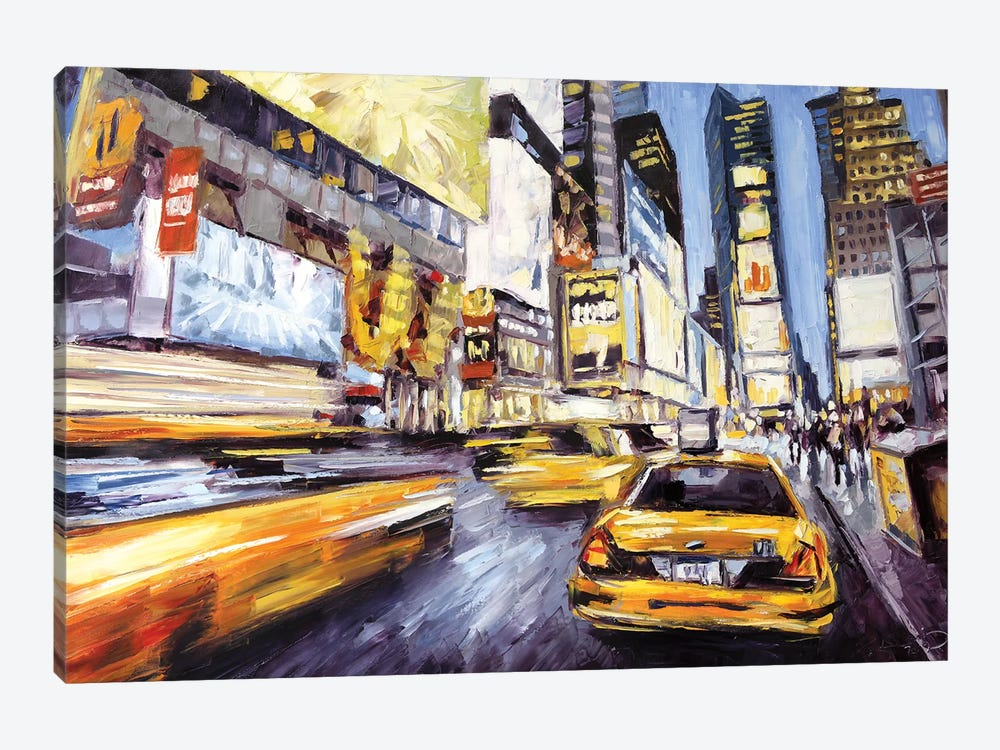 46th & 7th by Roger Disney 1-piece Canvas Artwork