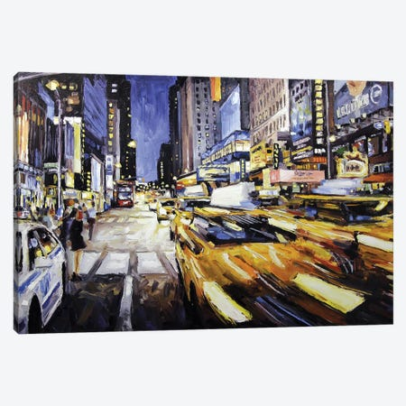 48th & 7th Avenue Canvas Print #RDI15} by Roger Disney Canvas Print