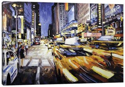 48th & 7th Avenue Canvas Art Print