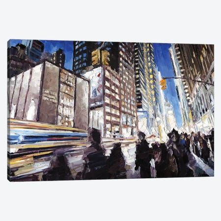 7th Ave & 40th Canvas Print #RDI16} by Roger Disney Canvas Print