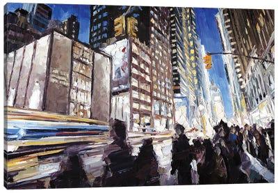 7th Ave & 40th Canvas Art Print