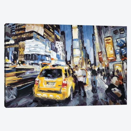 7th Ave & 45th Canvas Print #RDI17} by Roger Disney Canvas Print