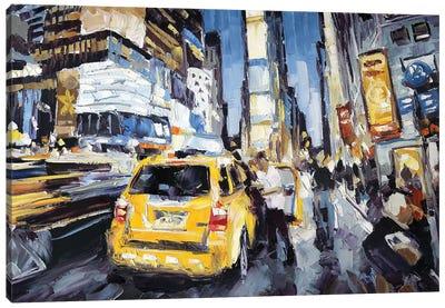 7th Ave & 45th Canvas Art Print
