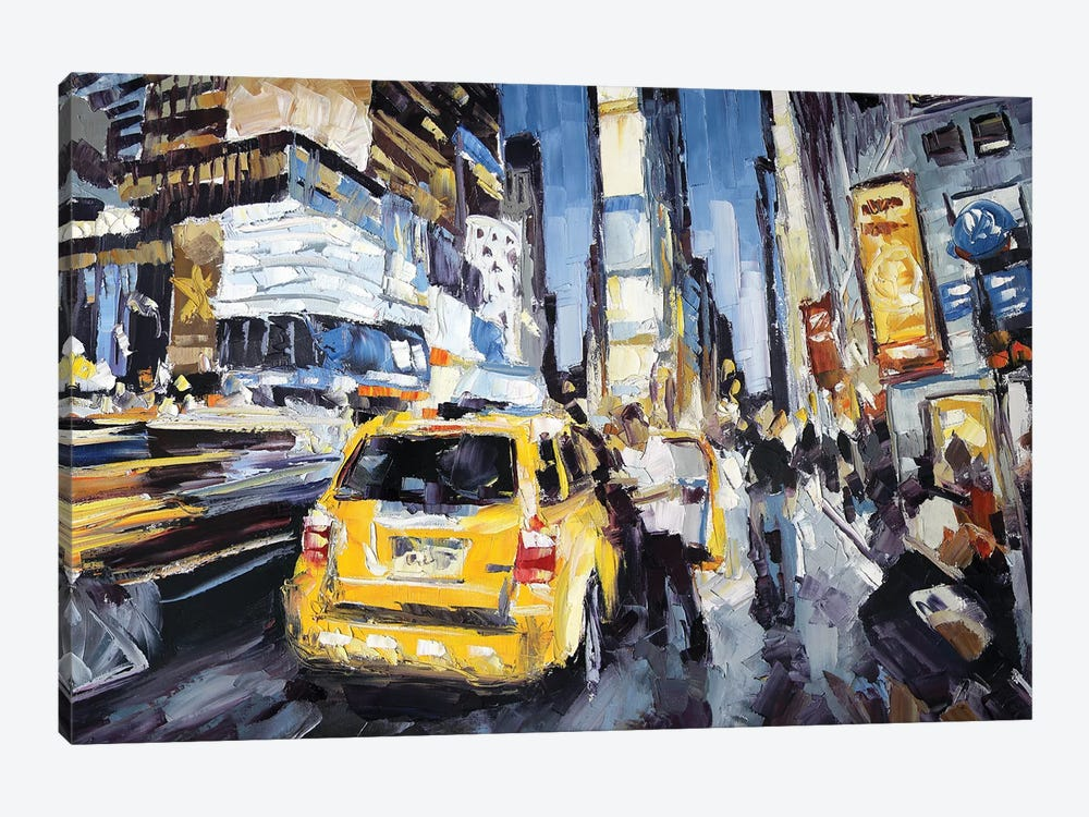 7th Ave & 45th by Roger Disney 1-piece Canvas Art Print