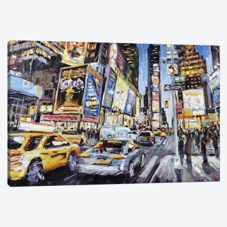 7th Ave & 46th Canvas Print #RDI18} by Roger Disney Canvas Art