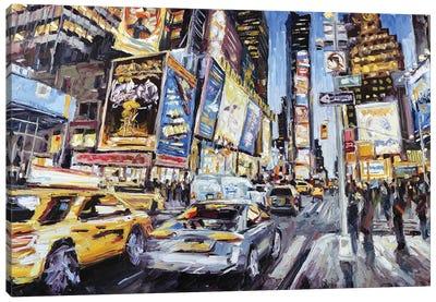 7th Ave & 46th Canvas Art Print