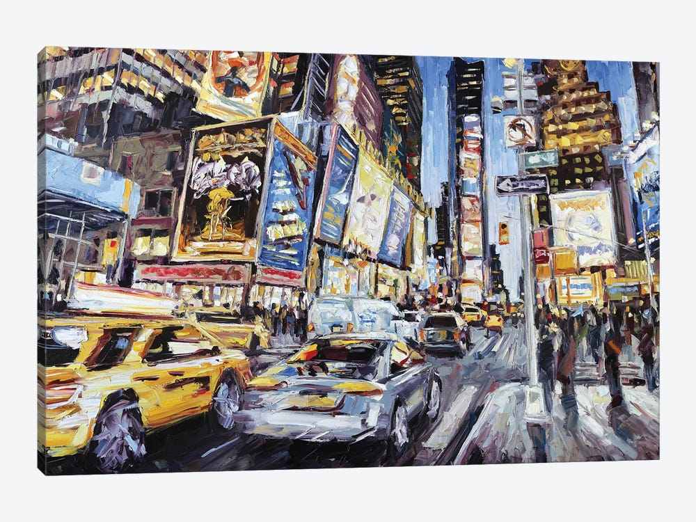 7th Ave & 46th by Roger Disney 1-piece Canvas Artwork