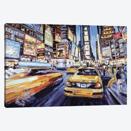 7th Ave & 47th Canvas Print #RDI19} by Roger Disney Canvas Art