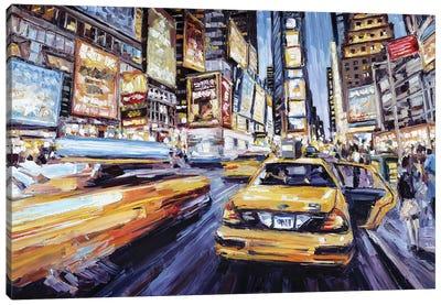7th Ave & 47th Canvas Art Print