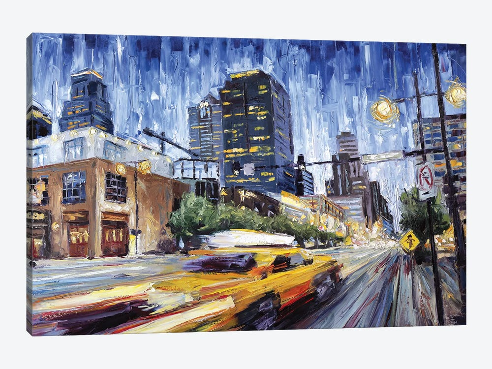 14th & Grand by Roger Disney 1-piece Canvas Artwork
