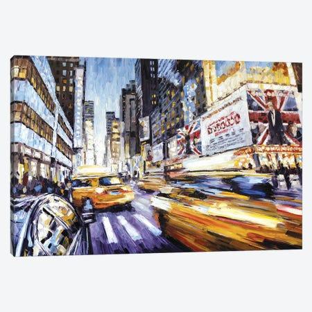 7th Ave & 50th Canvas Print #RDI20} by Roger Disney Canvas Print