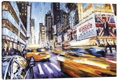 7th Ave & 50th Canvas Art Print