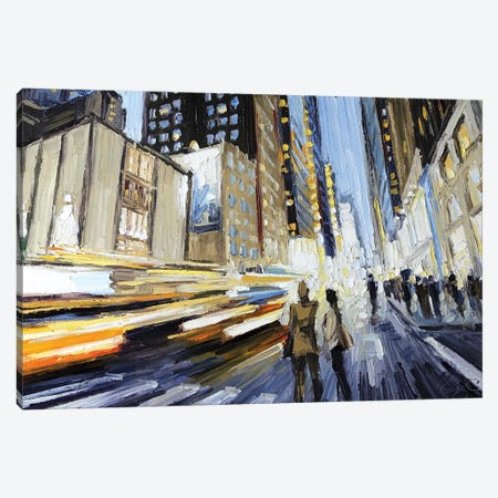 7th Ave North Of 40th Canvas Print #RDI21} by Roger Disney Canvas Art Print