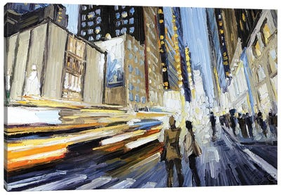 7th Ave North Of 40th Canvas Art Print
