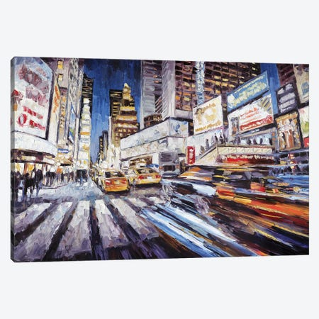7th Ave South Of 47th Canvas Print #RDI22} by Roger Disney Art Print