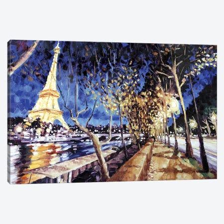 Avenue De New York Canvas Print #RDI25} by Roger Disney Canvas Art